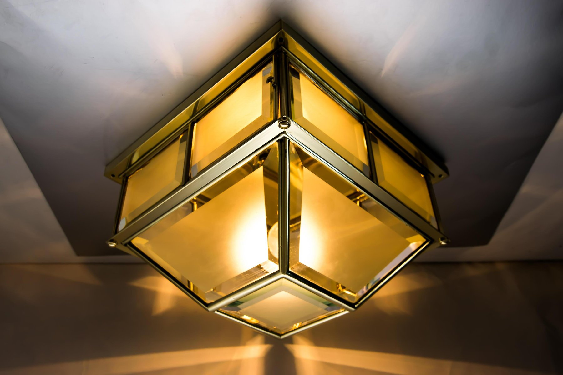 antike jugendstil deckenlampe bei pamono kaufen. Black Bedroom Furniture Sets. Home Design Ideas