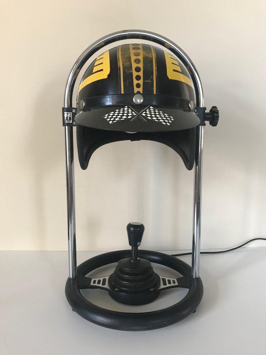 Helmet Lampe von FF Leuchten, 1970er