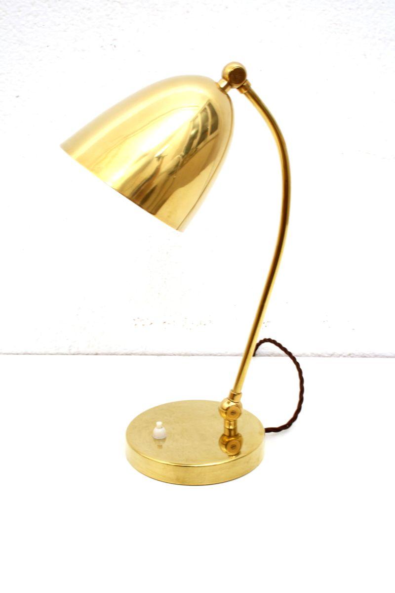 Vintage Tischlampe von LePhare Lausanne, 1930er