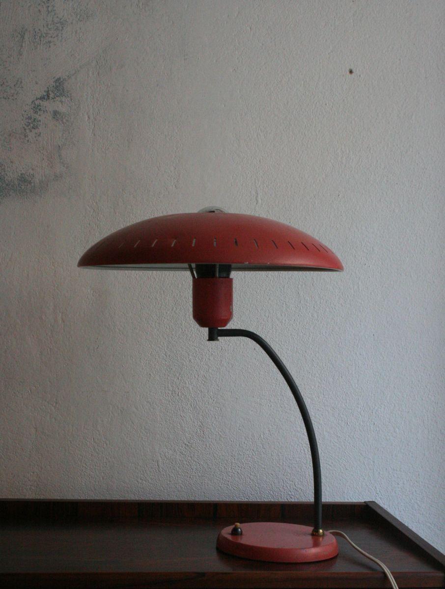 Mid-Century Tischlampe von Louis Kalff für Philips