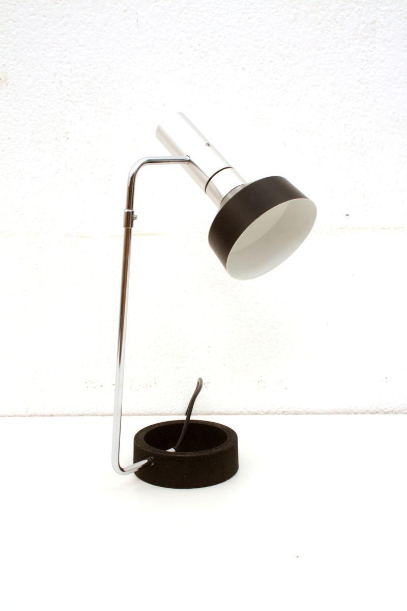 Schweizer Minilux Tischlampe von Baltensweiler, 1960er