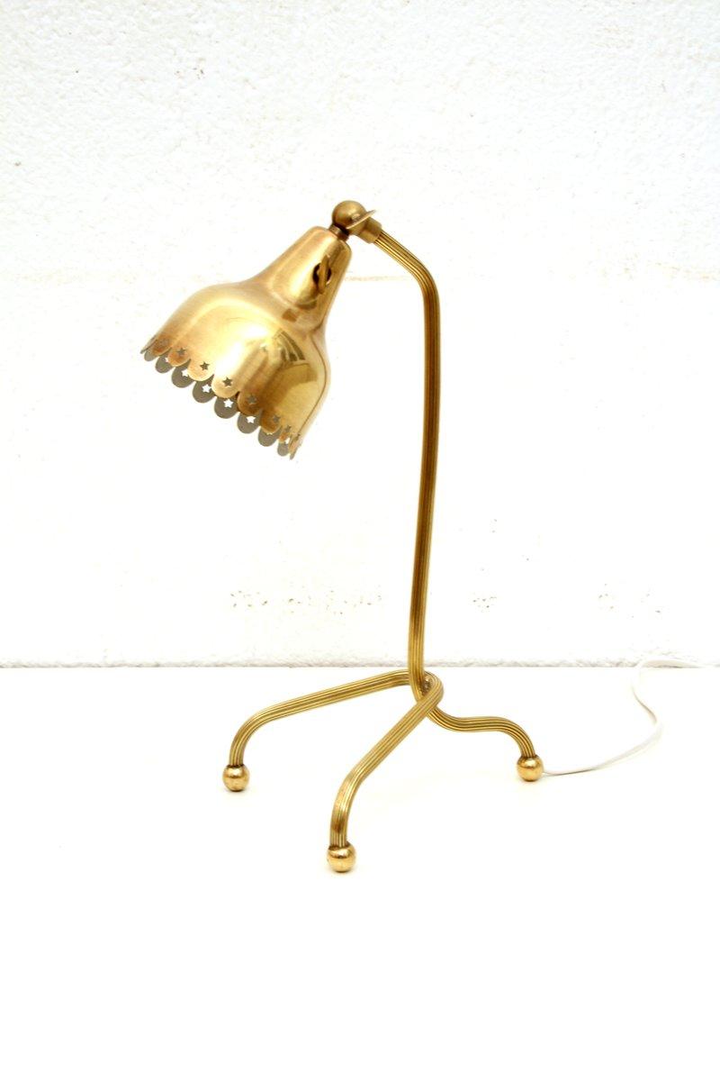 Skandinavische Tischlampe, 1950er