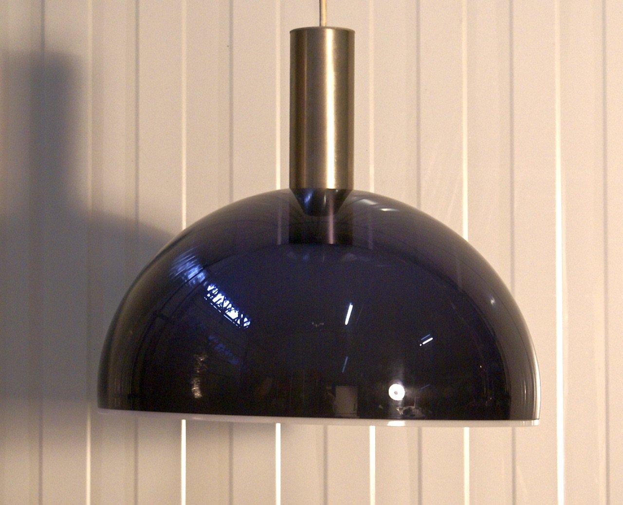 Niederländische Vintage Hängelampe von Dijkstra Lampen