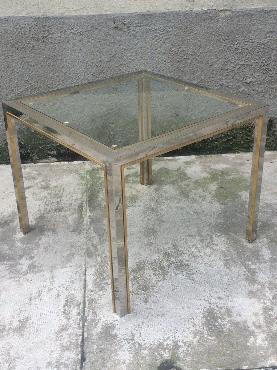 Viereckiger Vintage Esstisch von Romeo Rega