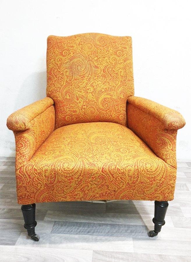fauteuil napolon iii roulettes de la fin du 19me sicle - Fauteuil Napoleon 3
