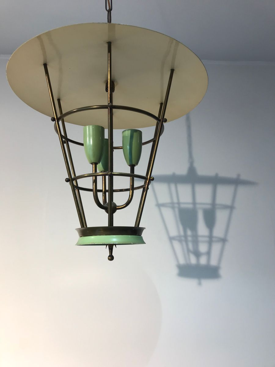 mid century pendant lamp for sale at pamono. Black Bedroom Furniture Sets. Home Design Ideas