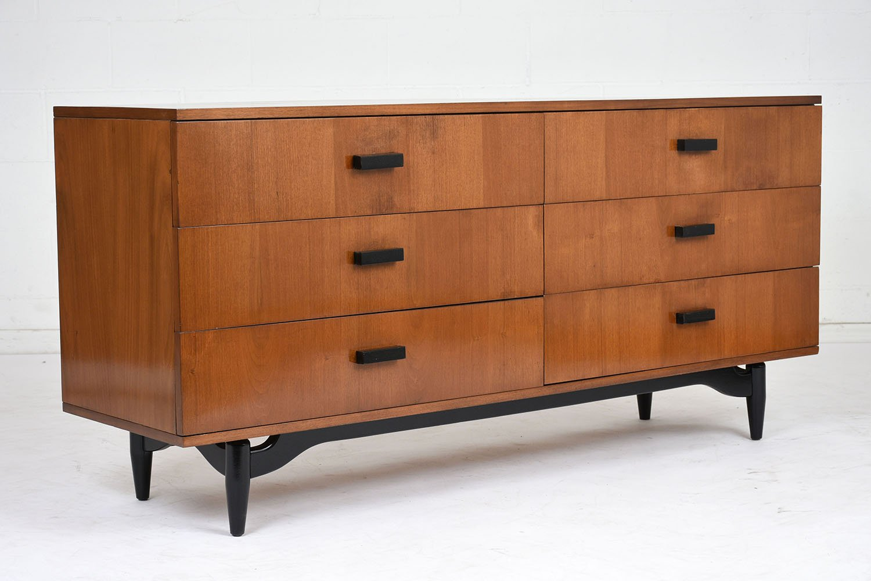 kommode mit sechs schubladen 1960er bei pamono kaufen. Black Bedroom Furniture Sets. Home Design Ideas