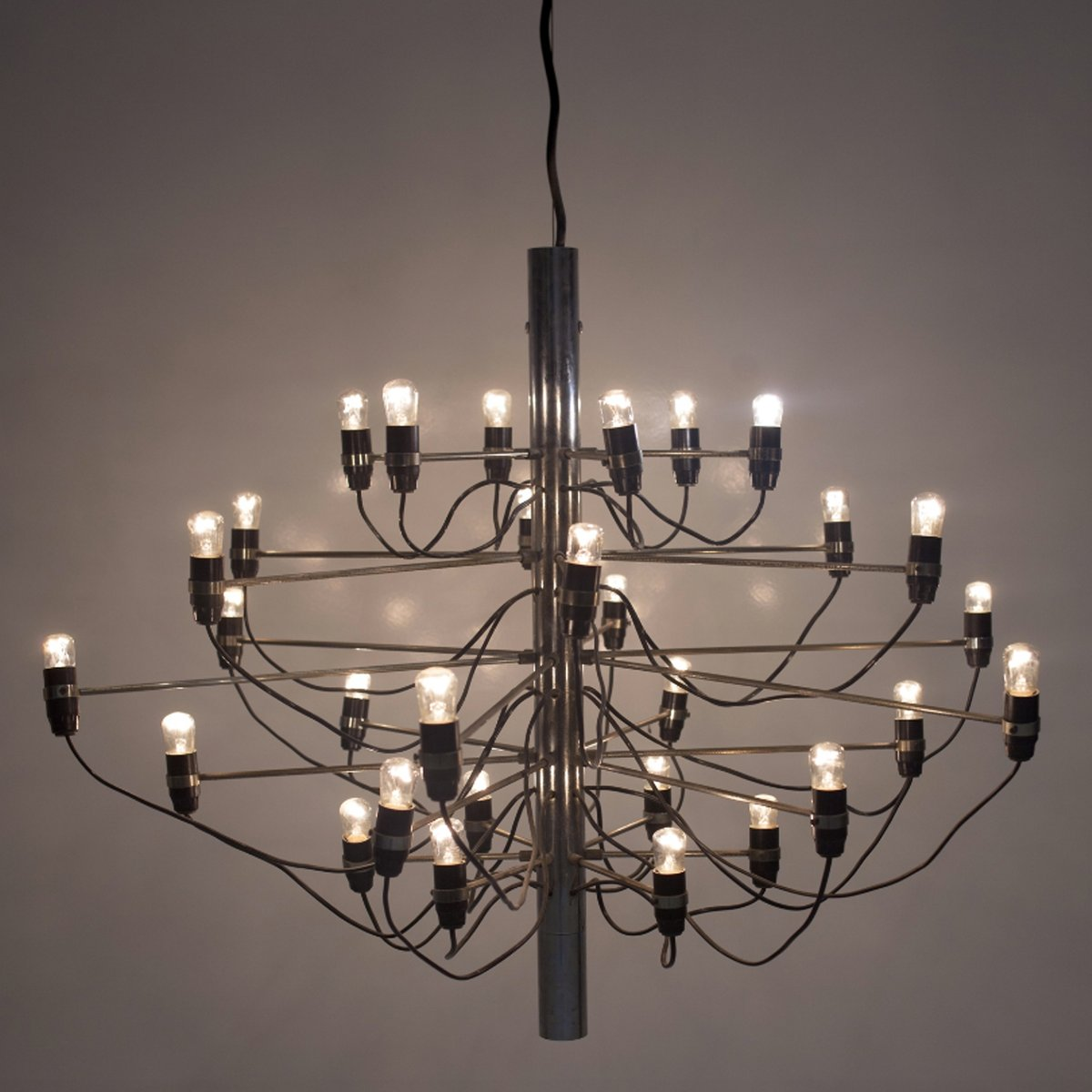 Model 209730 chandelier by gino sarfatti for arteluce 1958 for model 209730 chandelier by gino sarfatti for arteluce 1958 aloadofball
