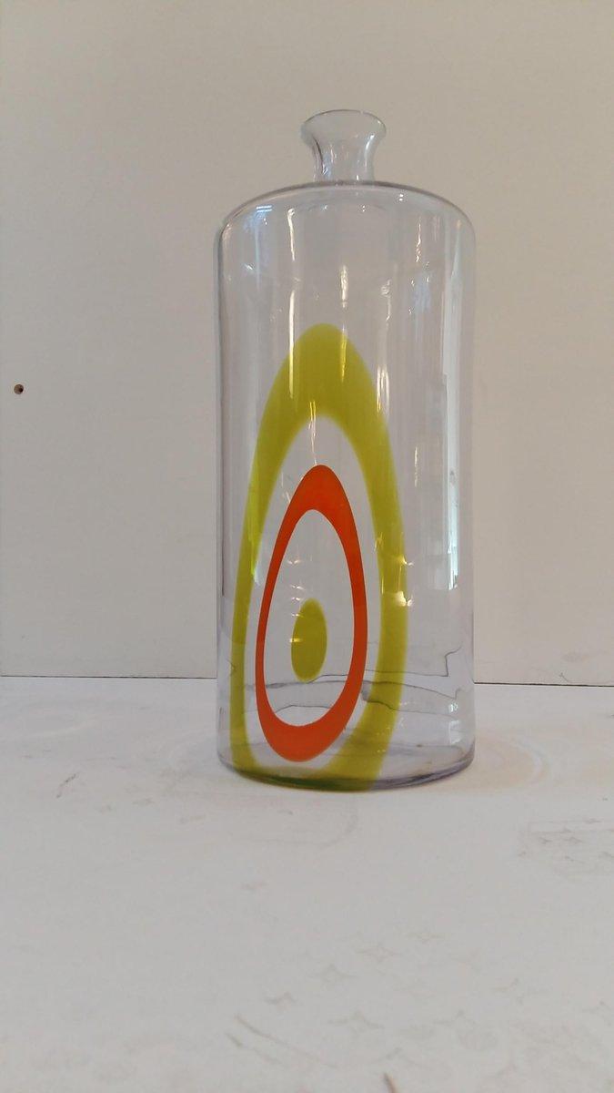 Murano Glass Saturno Bottle by Lino Tagliapietra for La Murrina ...