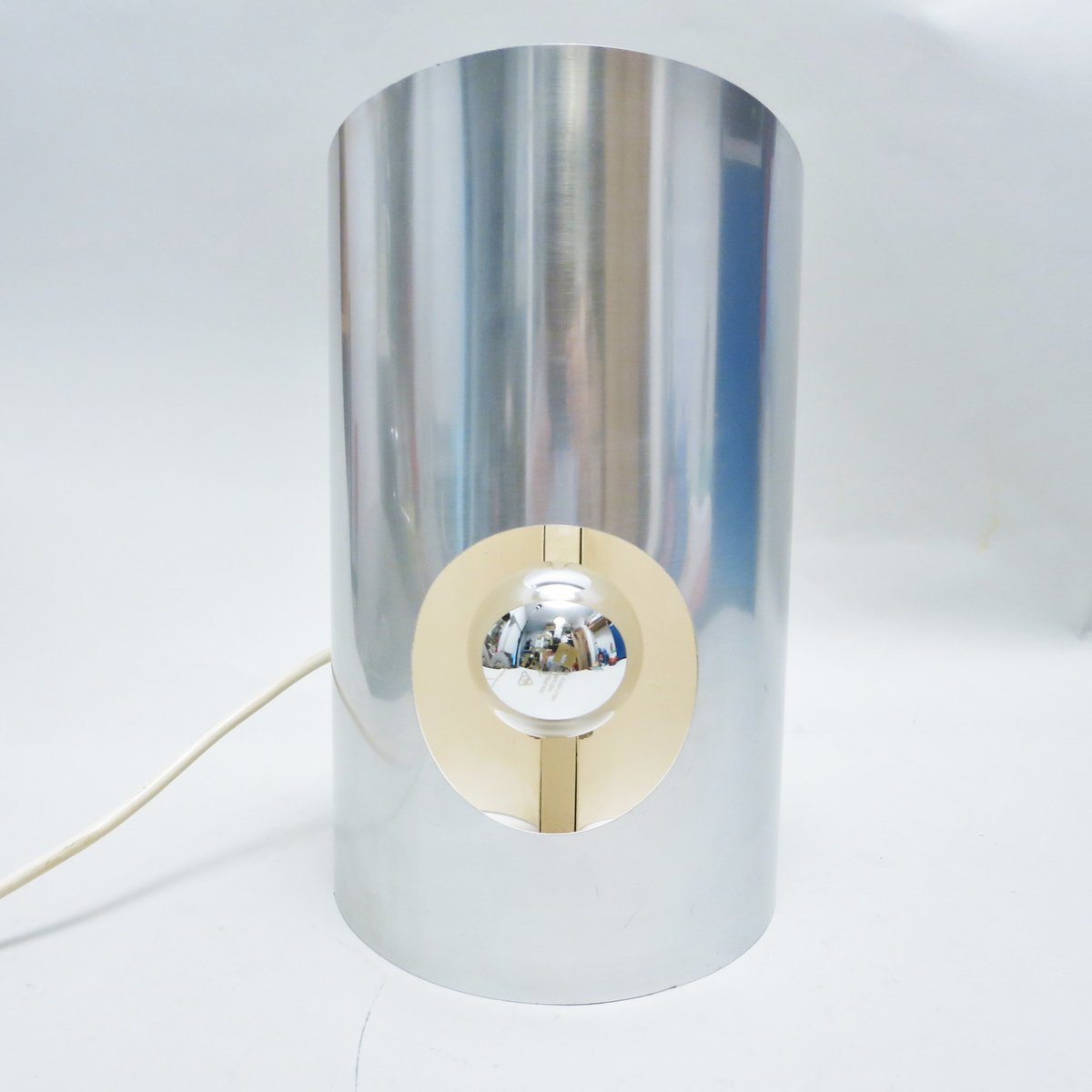 Französische Ribbon Lampe, 1970er