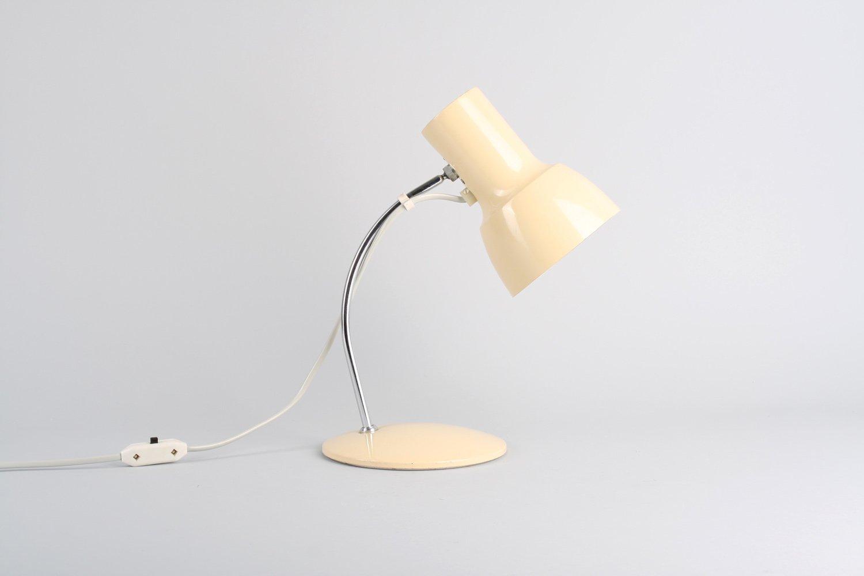 Beige Tischlampe, 1960er