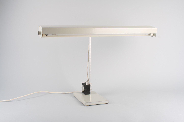Architektonische Vintage Tischlampe, 1980er