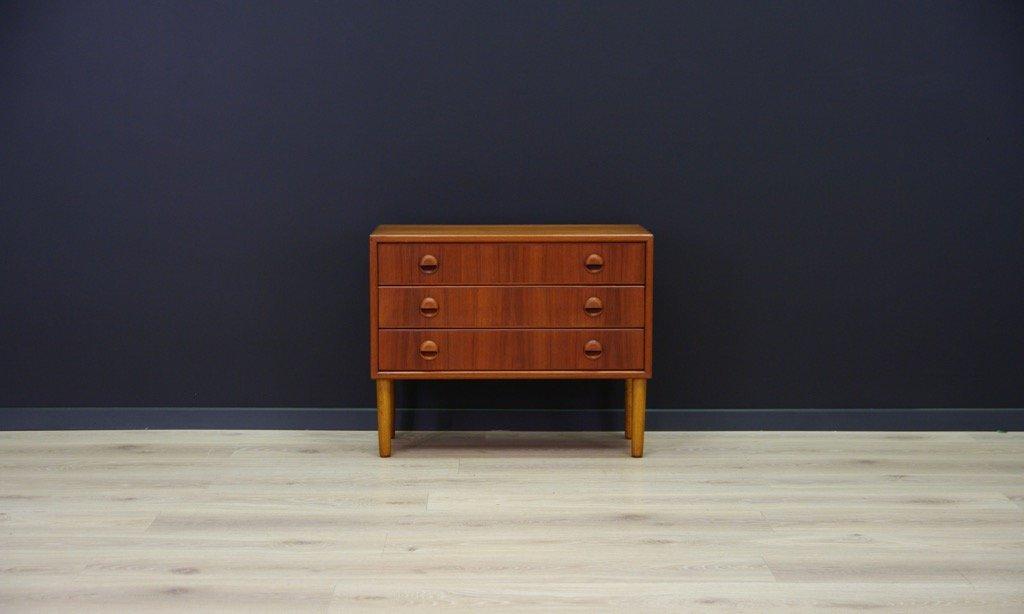 d nische vintage teak kommode bei pamono kaufen. Black Bedroom Furniture Sets. Home Design Ideas