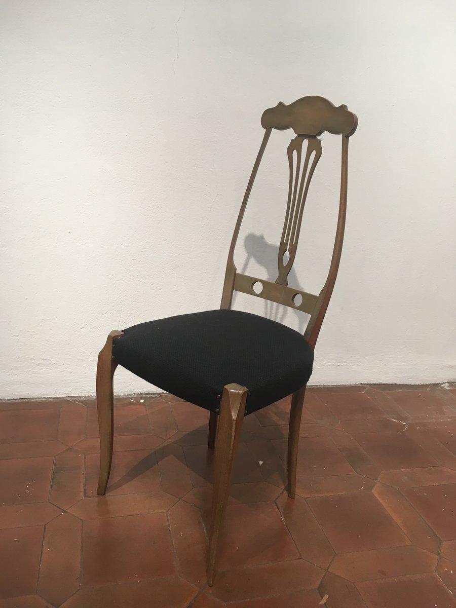 st hle 1930er 4er set bei pamono kaufen. Black Bedroom Furniture Sets. Home Design Ideas
