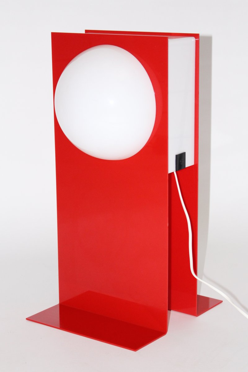 Postmoderne Plastik Tischlampe, 1980er