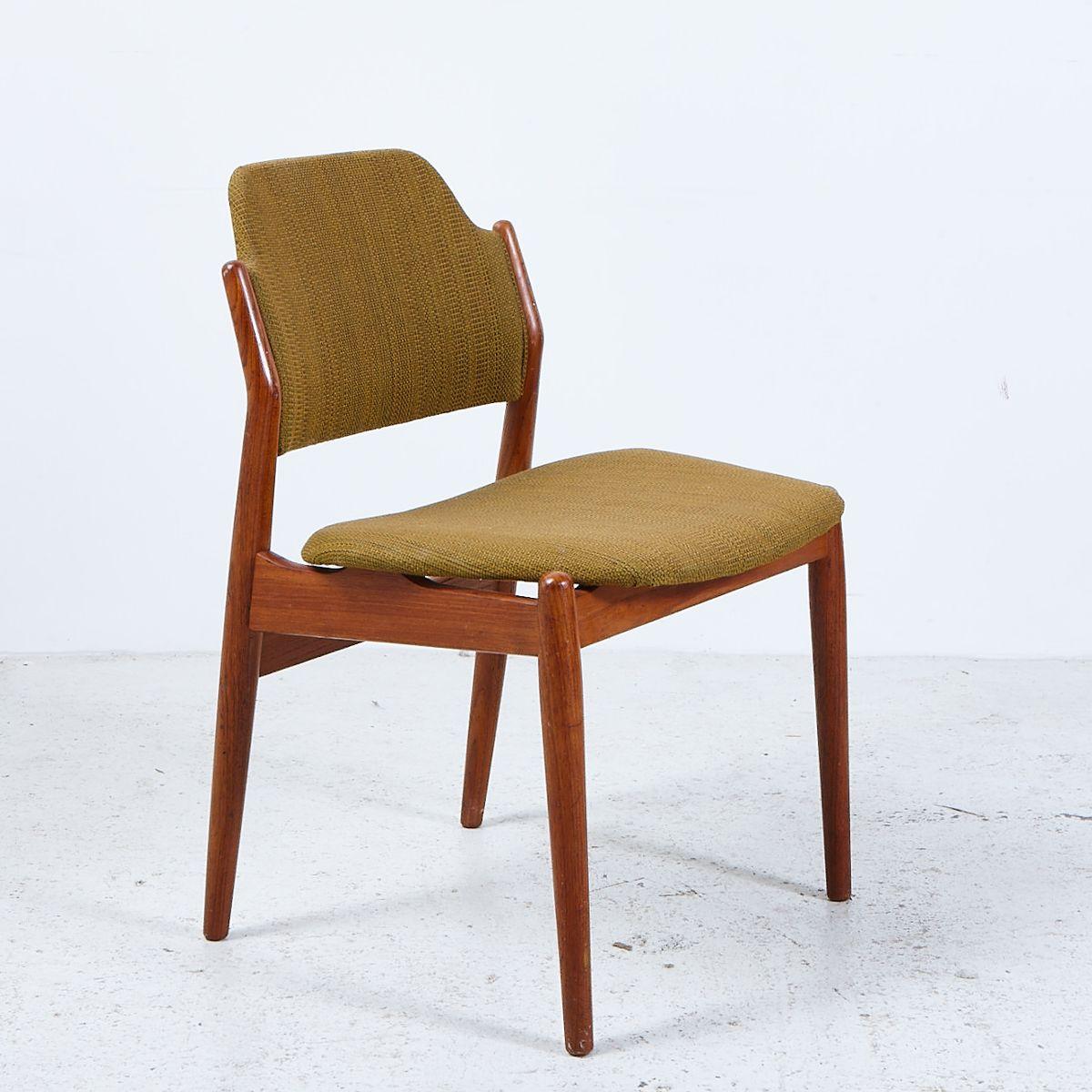 chaise d appoint mod le 62a en teck par arne vodder pour sibast 1961 en vente sur pamono. Black Bedroom Furniture Sets. Home Design Ideas