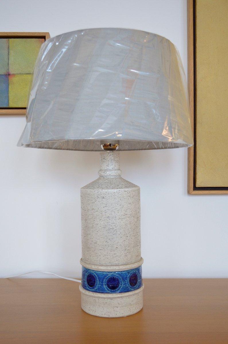 Mid-Century Tischlampen von Aldo Londi für Bitossi, 2er Set
