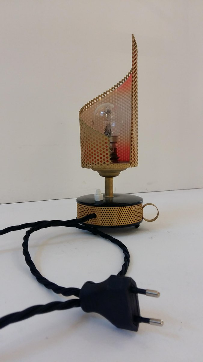 Aluminium table lamp from tl ambiance 1950s for sale at pamono price per piece greentooth Images