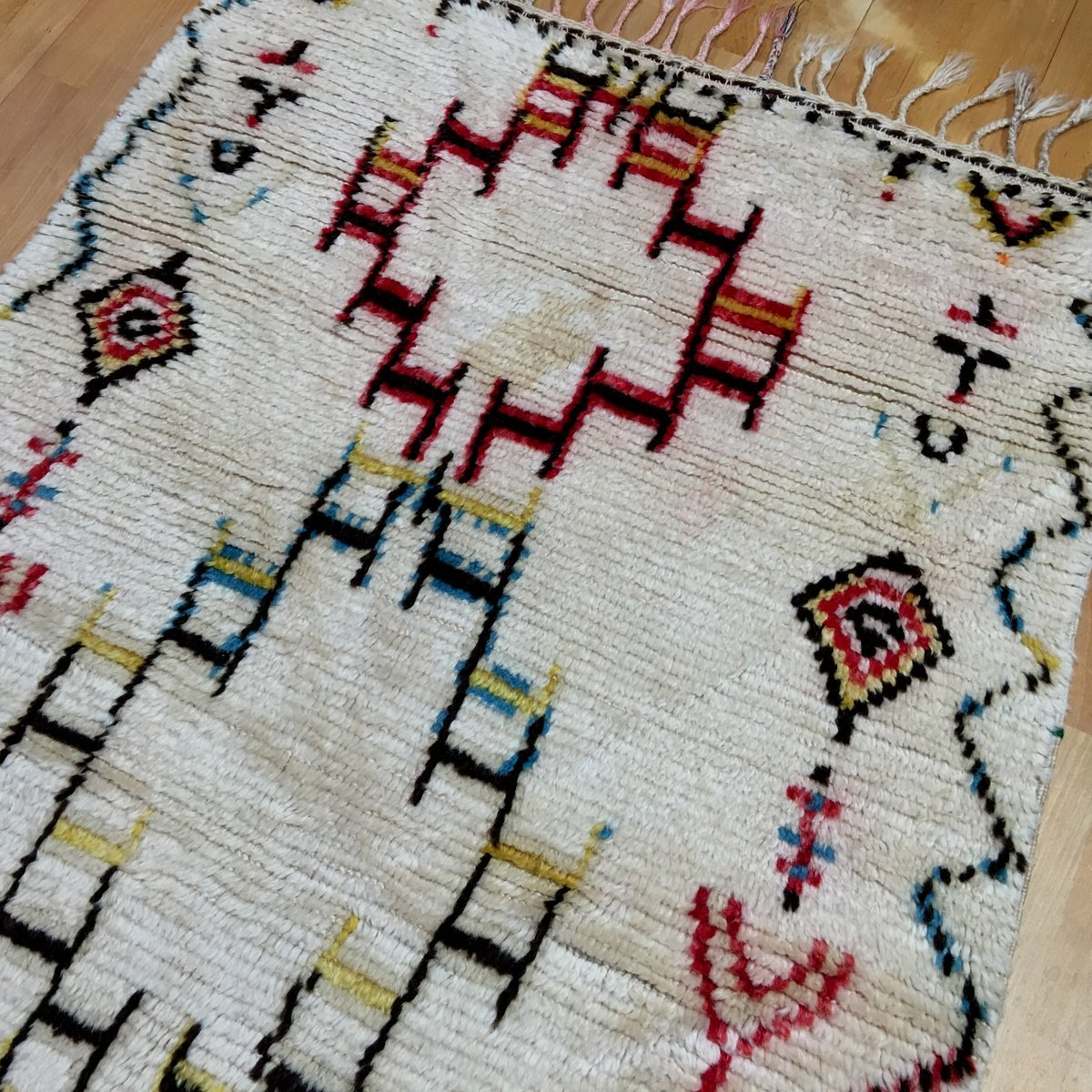 Vintage Moroccan Berber Rug, 1960s For Sale At Pamono