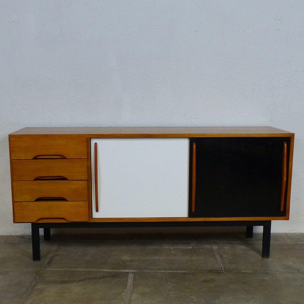 Esche Furniertes Sideboard von Charlotte Perriand, 1959