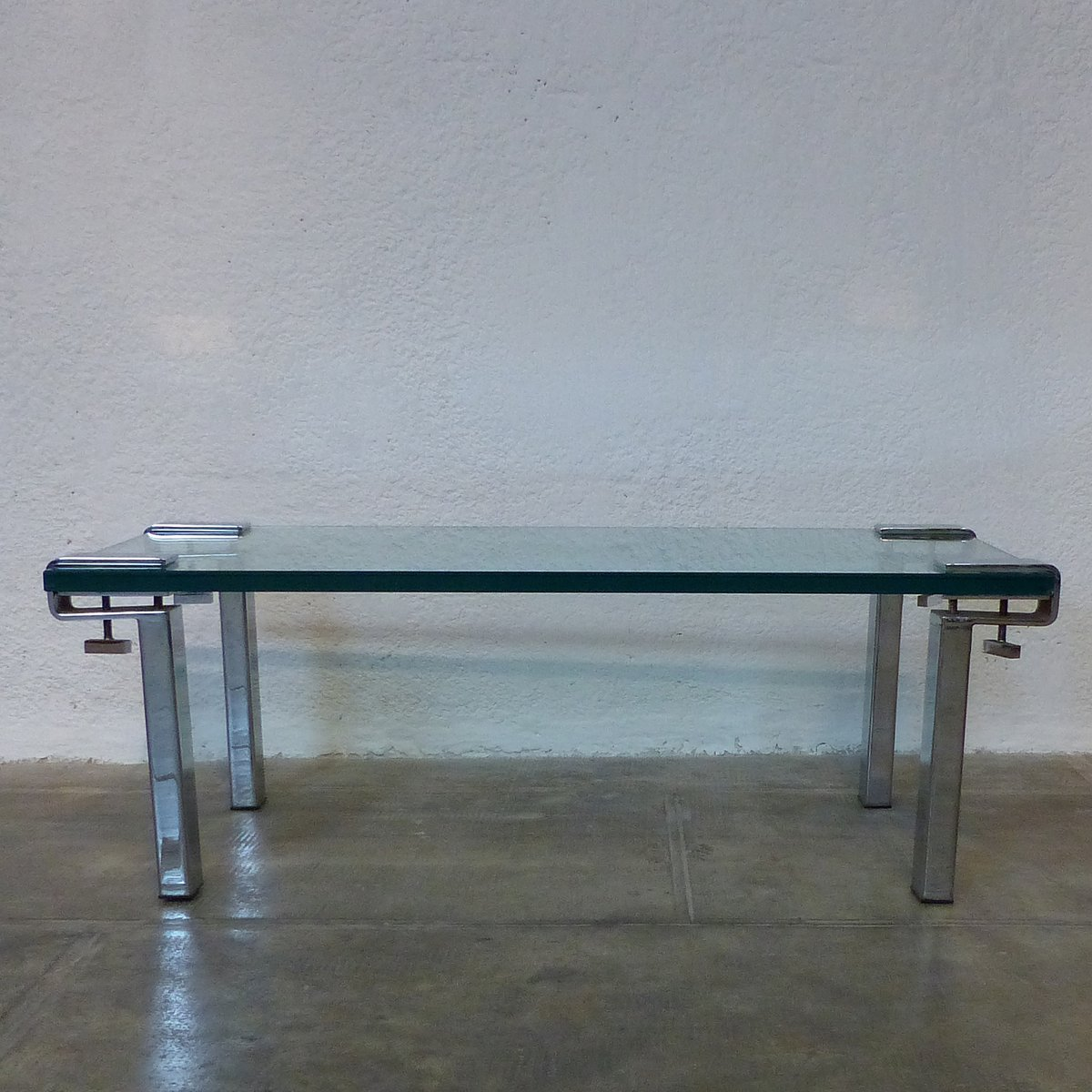 Mid-Century Serre Joint Tisch von François Arnal für Atelier A