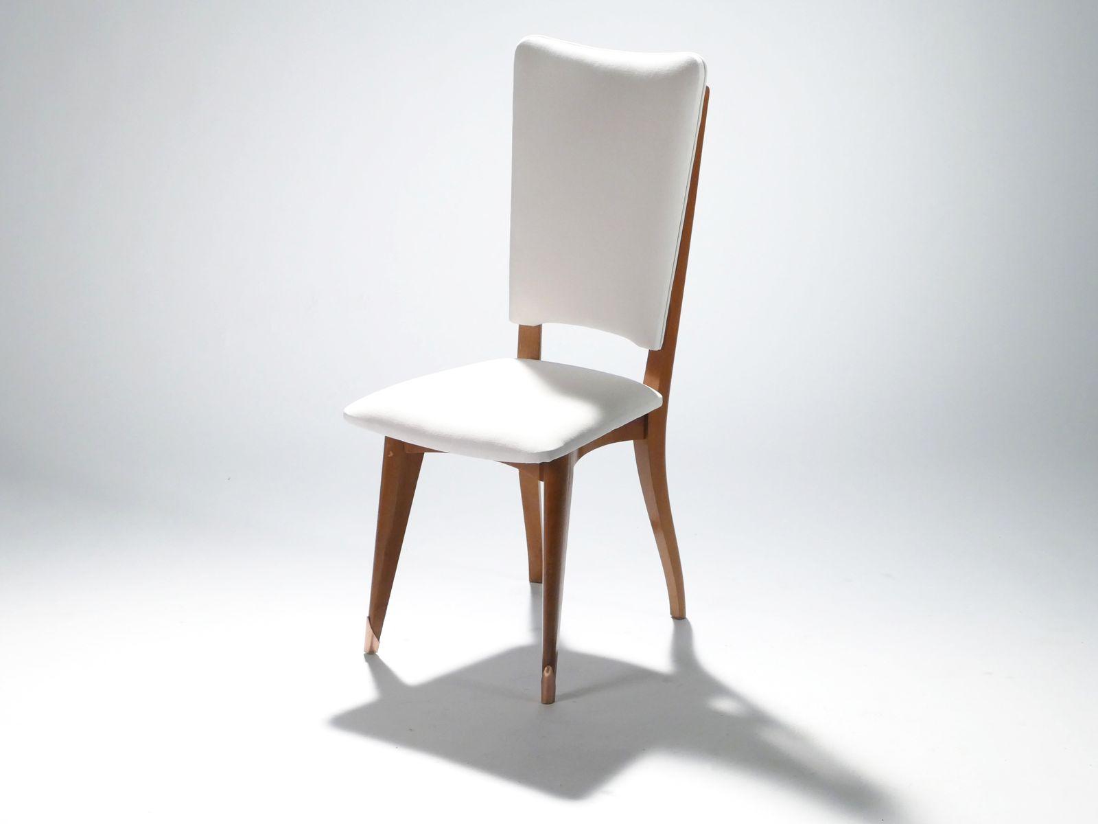 skandinavische teak st hle 1960er 8er set bei pamono kaufen. Black Bedroom Furniture Sets. Home Design Ideas