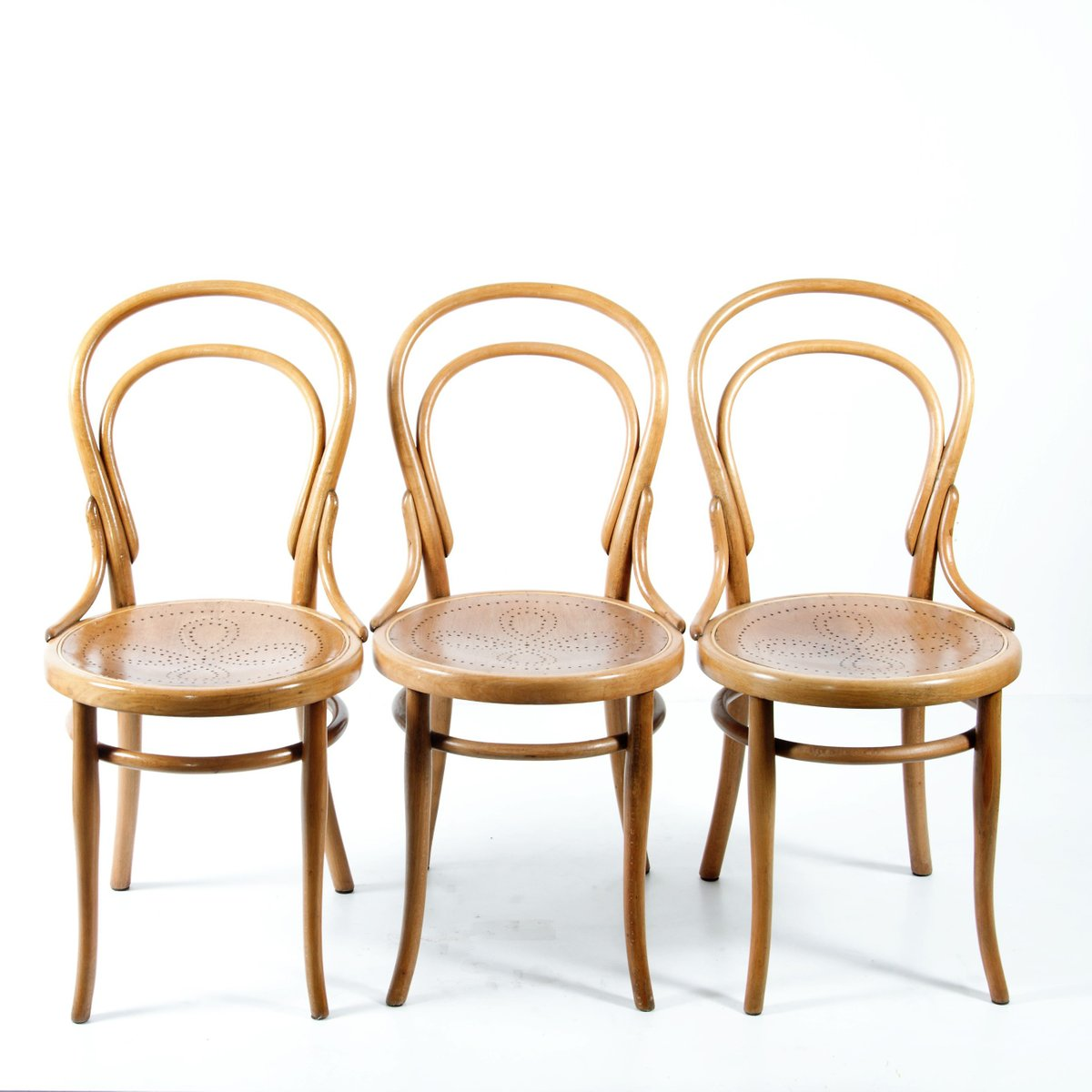 No 14 Thonet Chairs 1920s Set Of 4 For Sale At Pamono