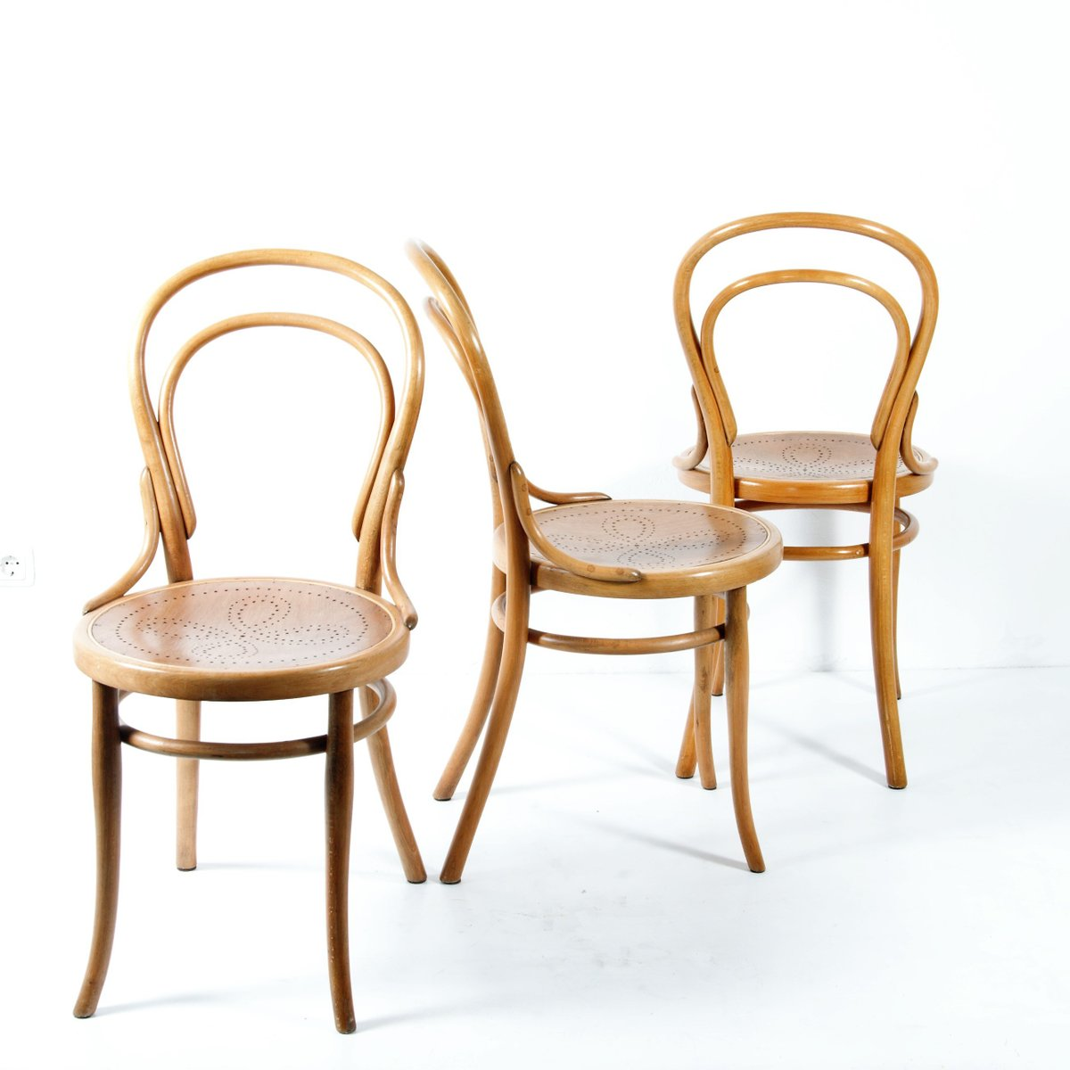 Chaises Thonet No 14 1920s Set De 4