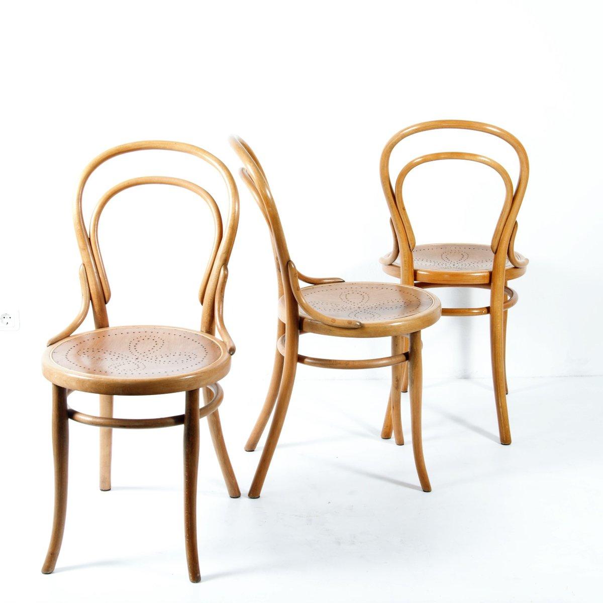 nr 14 thonet st hle 1920er 4er set bei pamono kaufen. Black Bedroom Furniture Sets. Home Design Ideas