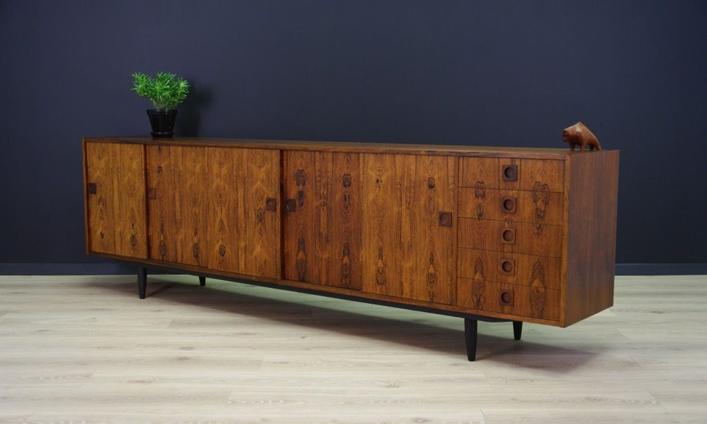 d nisches vintage palisander sideboard bei pamono kaufen. Black Bedroom Furniture Sets. Home Design Ideas