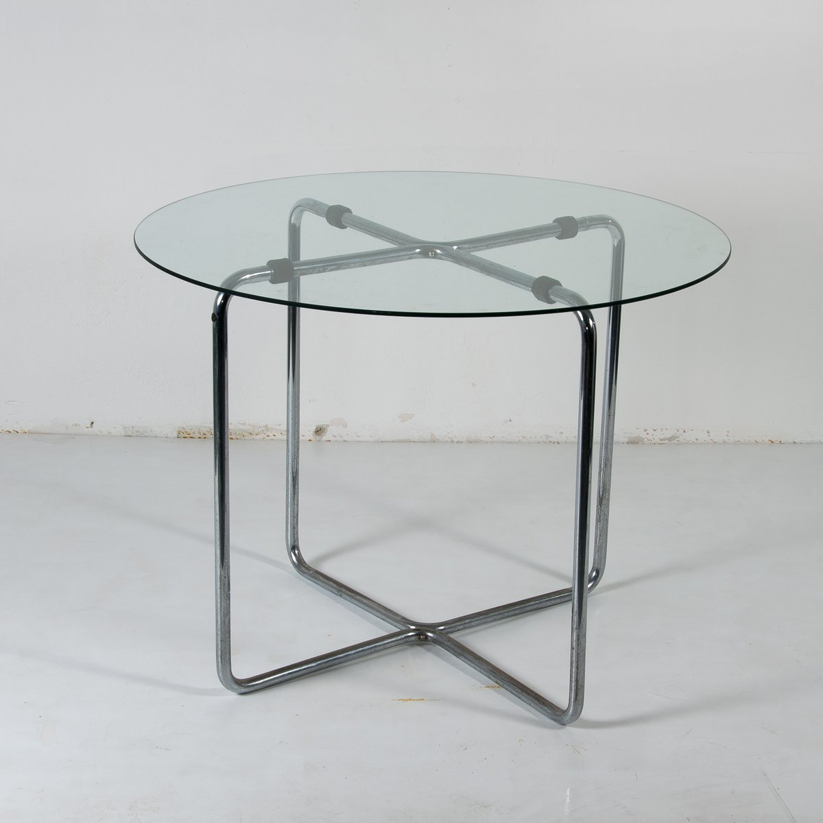 Nervi glass office desk Intended Glass Table By Marcel Breuer For Thonet 1930s Pamono Glass Table By Marcel Breuer For Thonet 1930s For Sale At Pamono