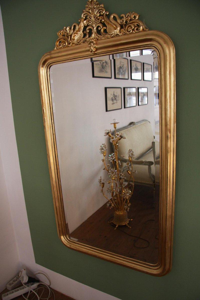 Specchio Antico Dorato Germania In Vendita Su Pamono