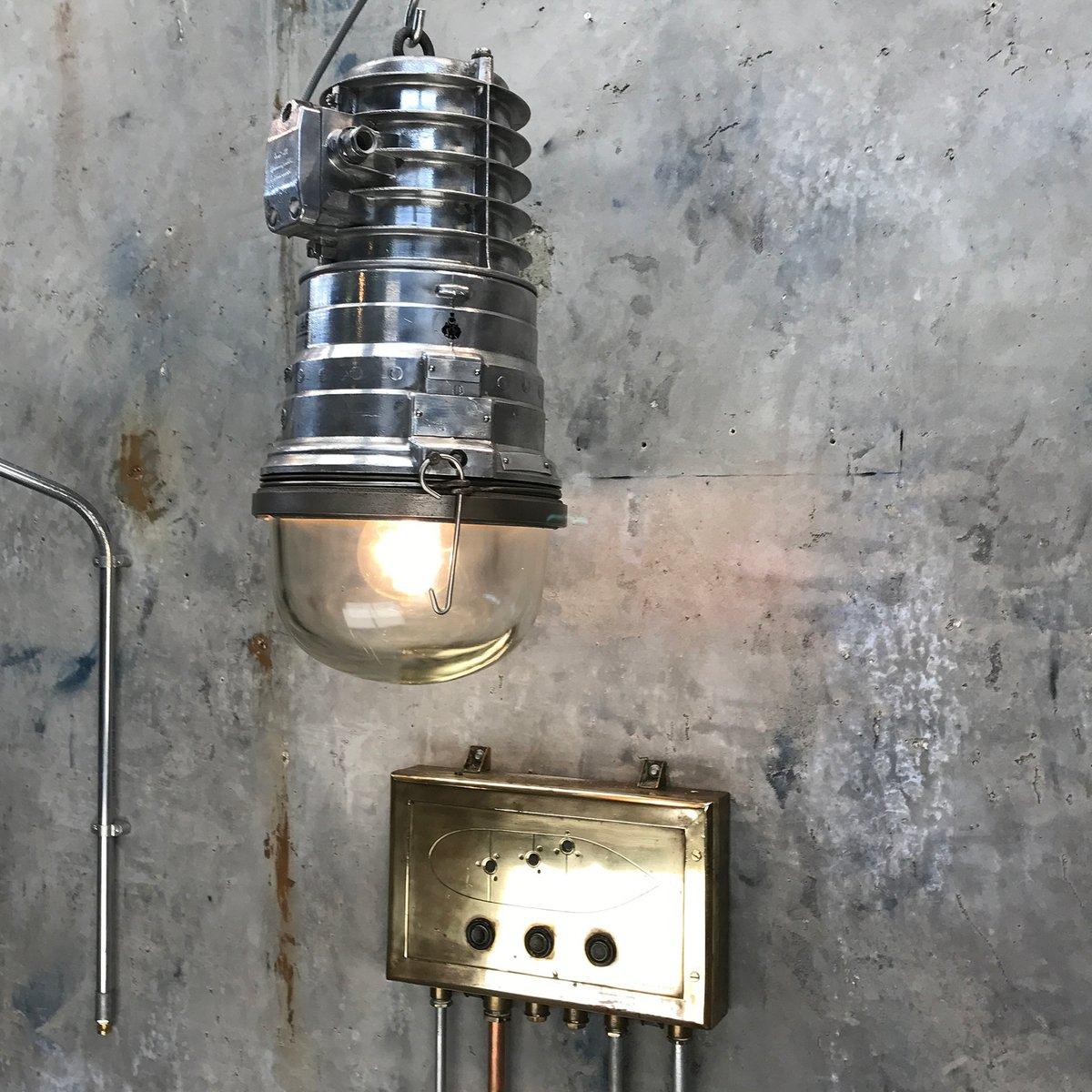 Aluminium Industrial Explosion Proof Pendant Light From