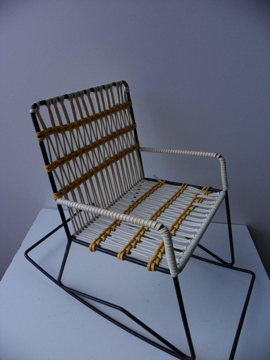 Sedia a dondolo vintage da bambino anni 39 70 in vendita su for Sedia design anni 70