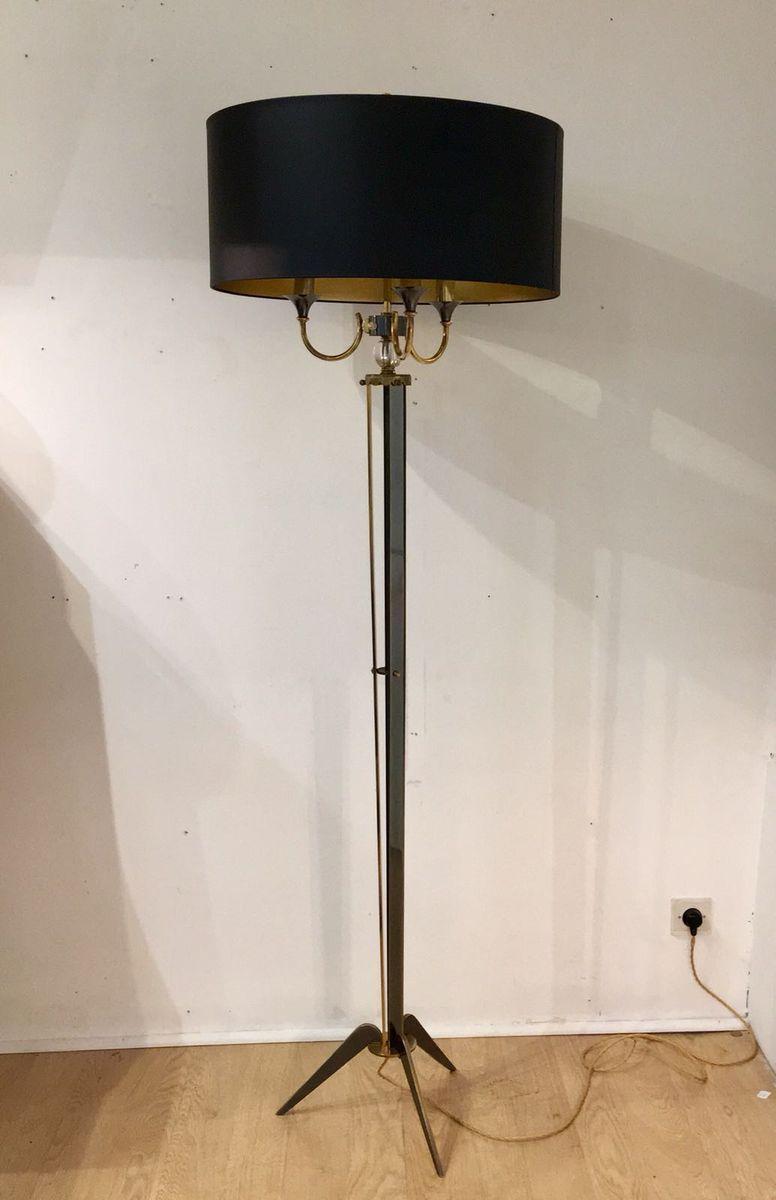 Stehlampe von Maison Jansen, 1950er