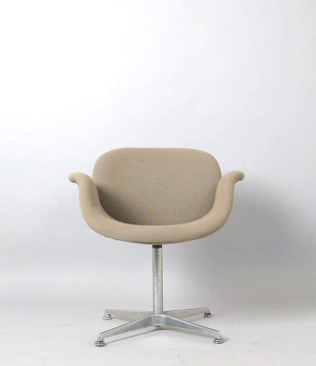 chaise little tulip f163 par pierre paulin pour artifort 1963 en vente sur pamono. Black Bedroom Furniture Sets. Home Design Ideas