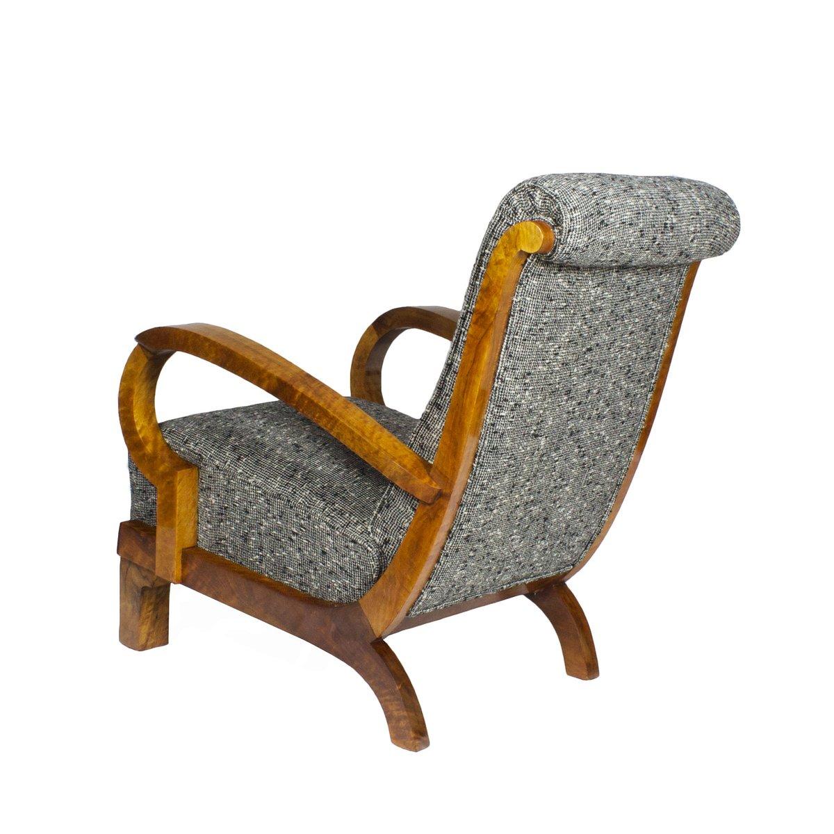 fauteuils art deco italie 1930s set de 2 en vente sur pamono. Black Bedroom Furniture Sets. Home Design Ideas