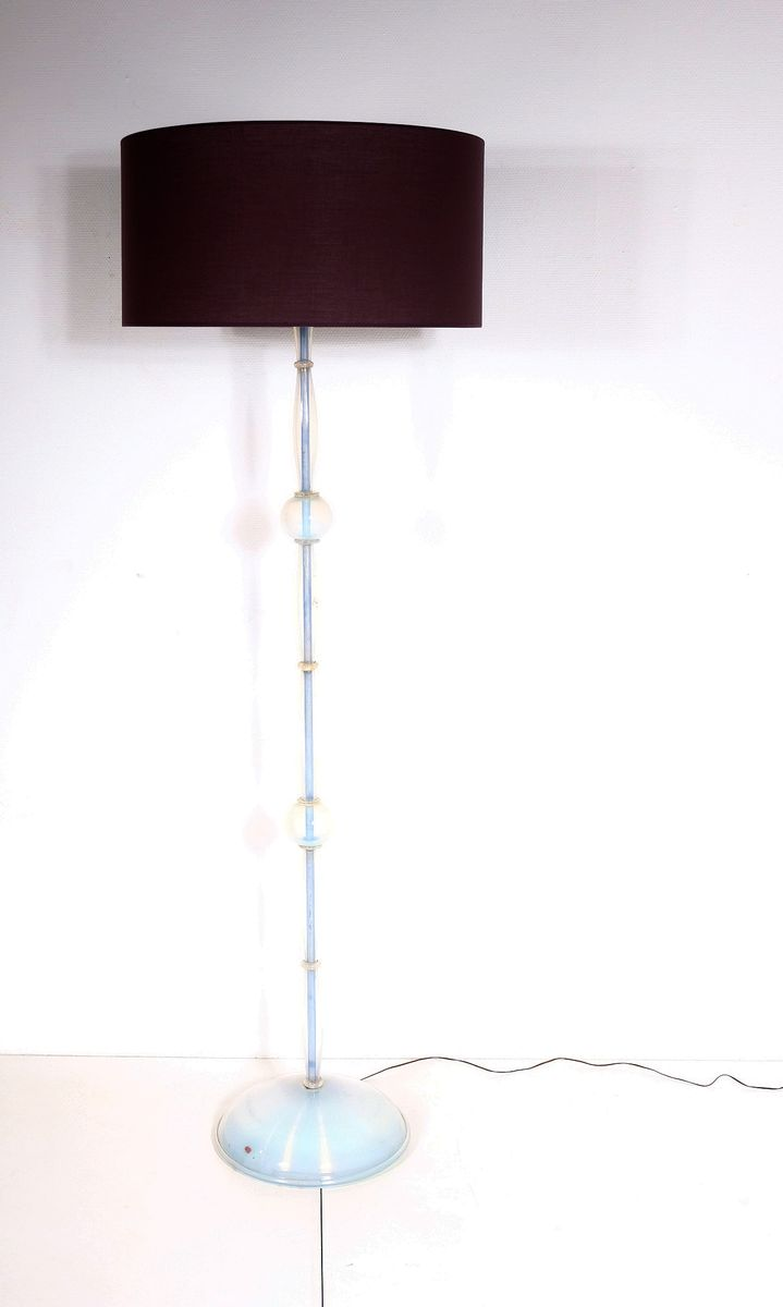 Mid-Century Murano Stehlampe von Gianni Seguso für Seguso, 1950er
