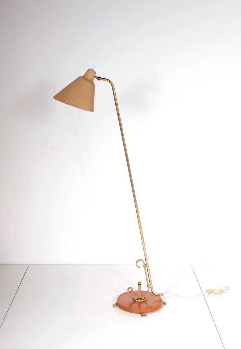 italienische mid century stehlampe 1950er bei pamono kaufen. Black Bedroom Furniture Sets. Home Design Ideas