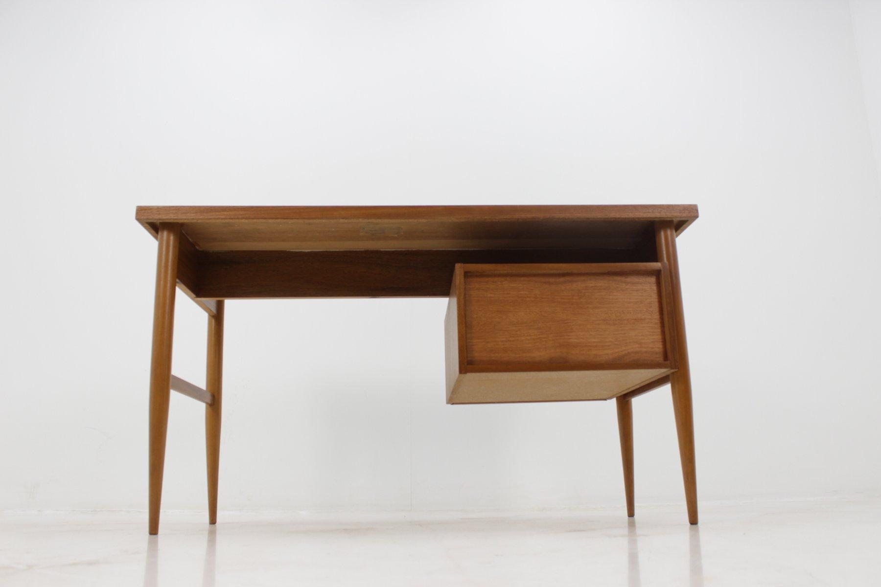 skandinavischer mid century schreibtisch bei pamono kaufen. Black Bedroom Furniture Sets. Home Design Ideas