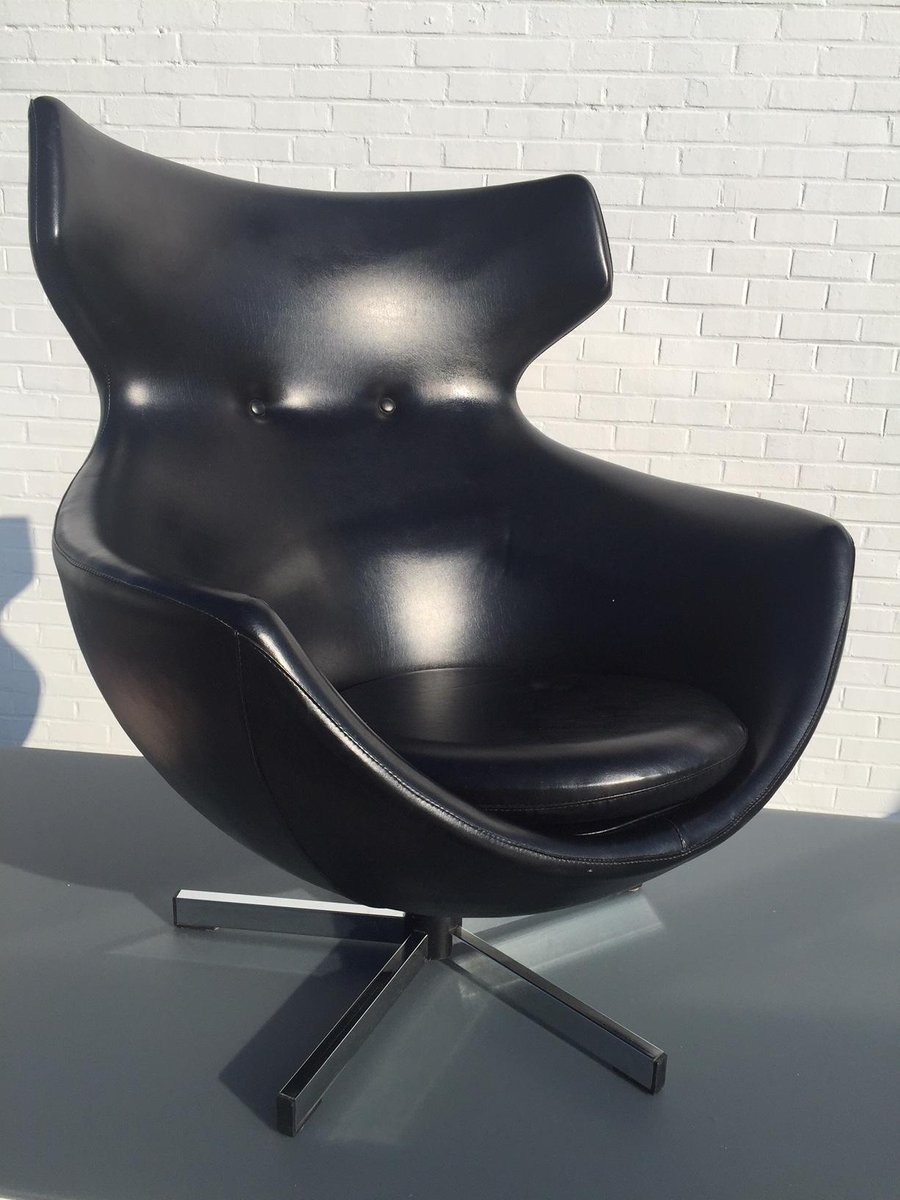 fauteuil jupiter par pierre guariche pour meurop 1960s en vente sur pamono. Black Bedroom Furniture Sets. Home Design Ideas