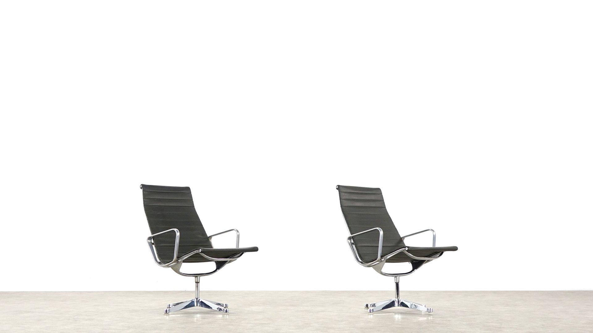 EA 116 Sessel von Charles & Ray Eames für Herman Miller, 2er Set