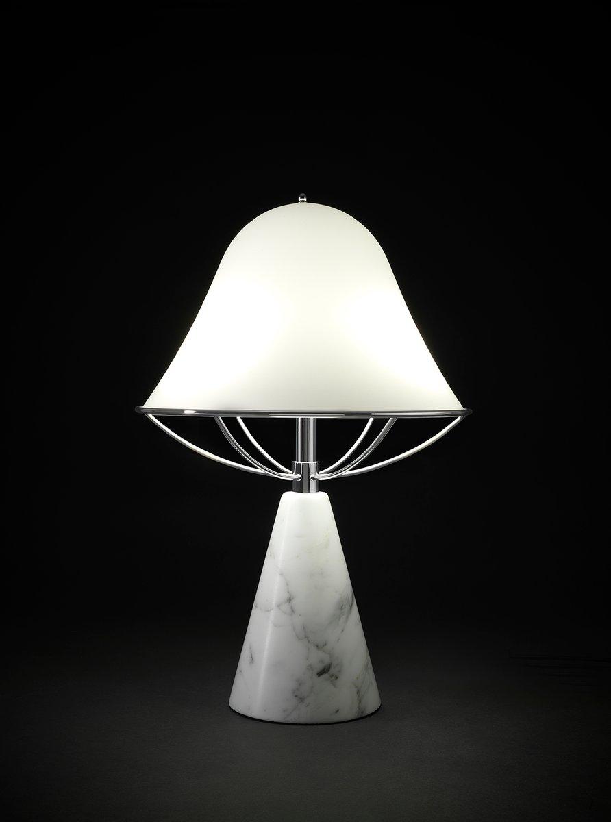 Anita Tischlampe aus Carrara Marmor von Lorenza Bozzoli für Tato Itali...