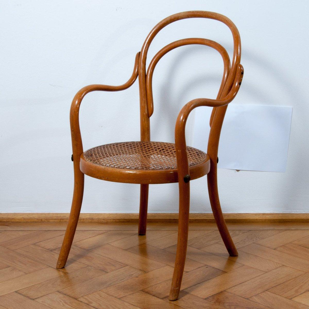 chaise pour enfants no 1 art nouveau de thonet en vente sur pamono. Black Bedroom Furniture Sets. Home Design Ideas