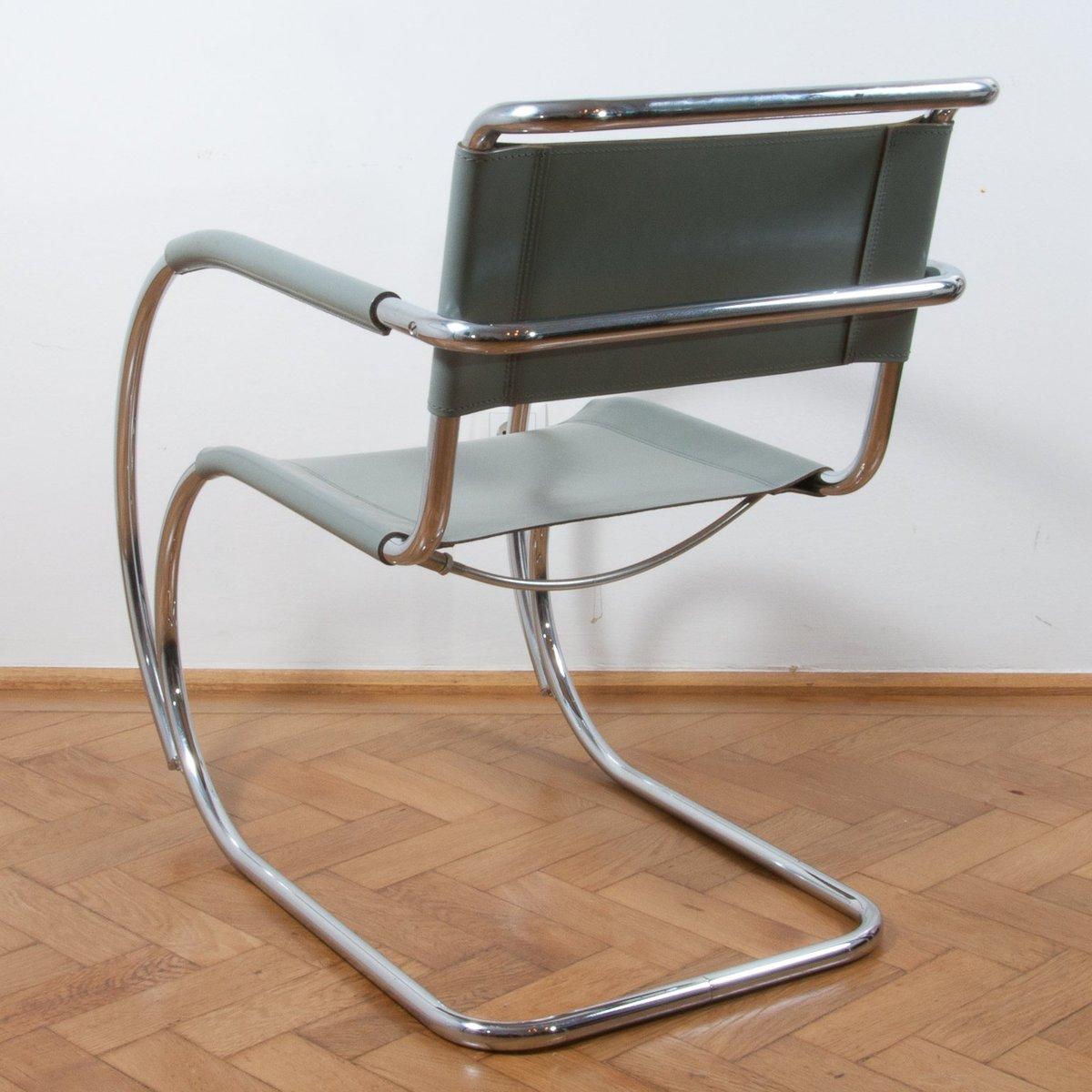 s533 cantilever stuhl von ludwig mies van der rohe f r thonet 1970er bei pamono kaufen. Black Bedroom Furniture Sets. Home Design Ideas