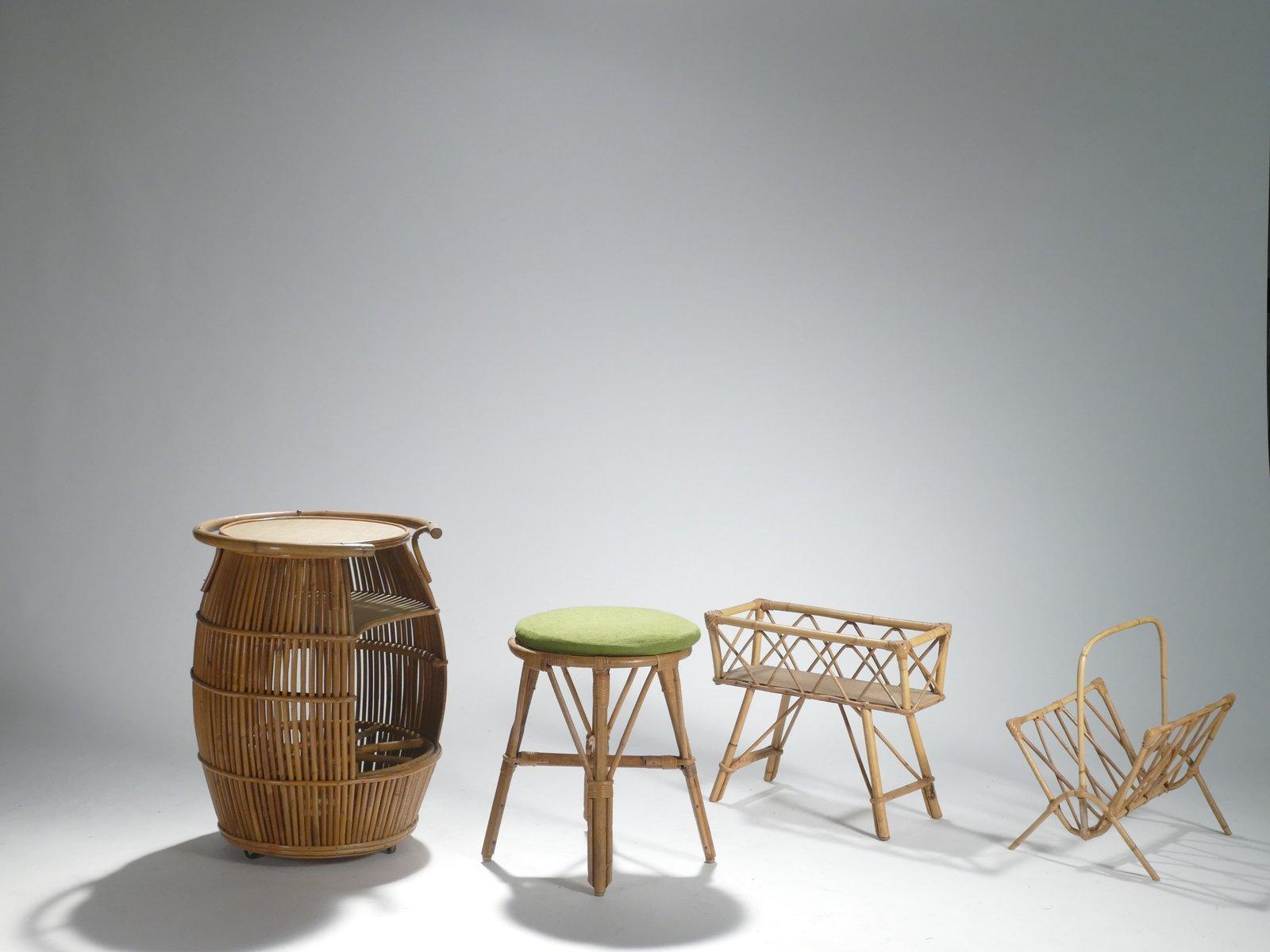 Garten Set von Adrien Audoux & Frida Minet, 1950er