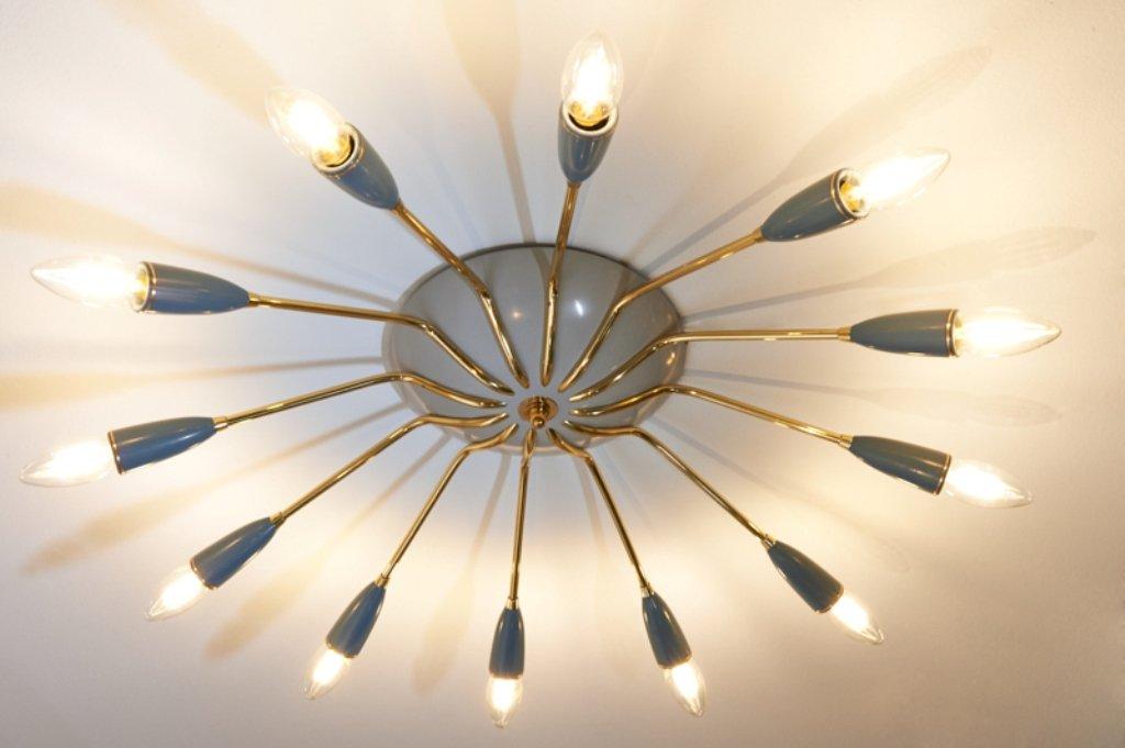 Deckenlampe von Spira, 1950er