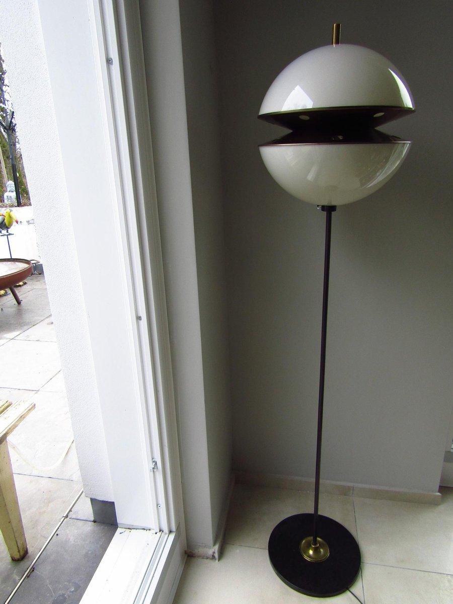 Mid-Century Stehlampe von Fabio Lenci für Guzzini, 1960er