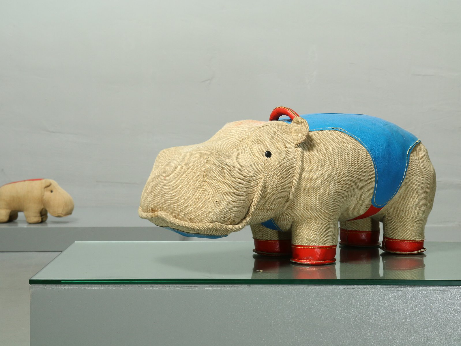 Mocky Hippo Therapeutic Toy by Renate Müller for VEB Sonni, 1970s ...