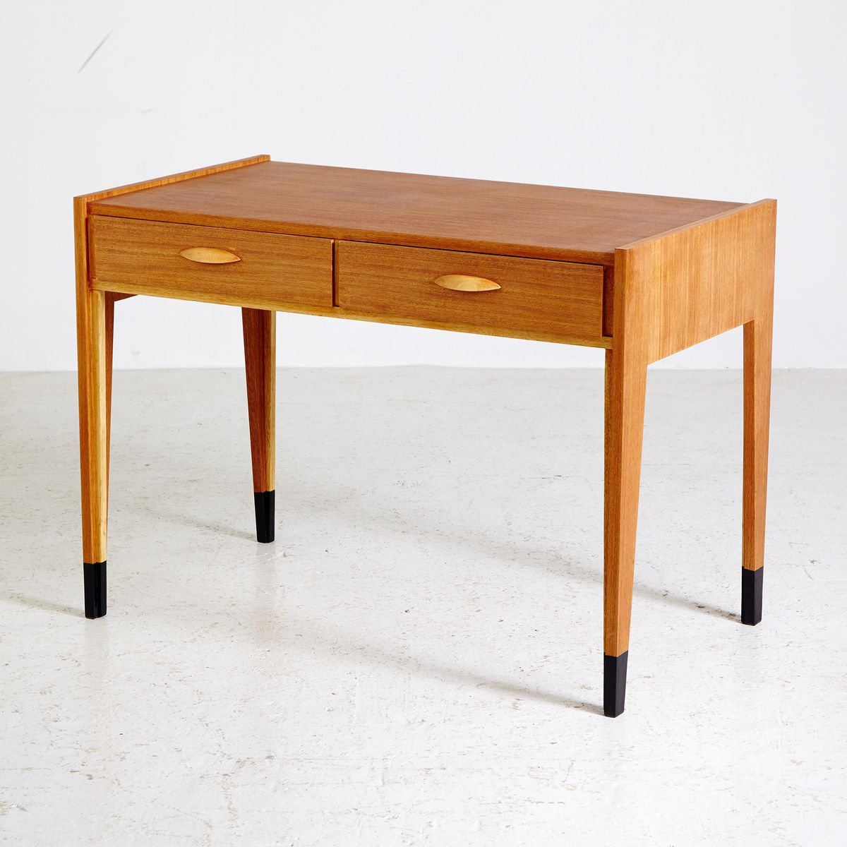 Vintage Oak Writing Desk 1970s